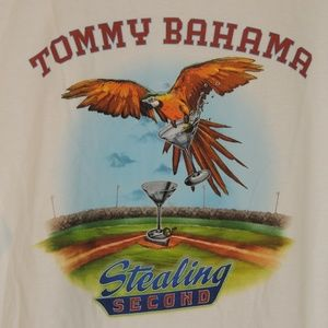 Tommy Bahama Mens XXL Baseball Martini T Shirt